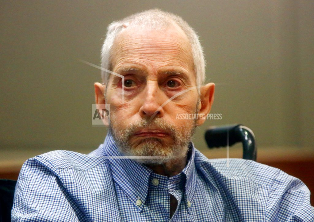 LOS ANGELES | Robert Durst faces photos of slain friend in life, in death