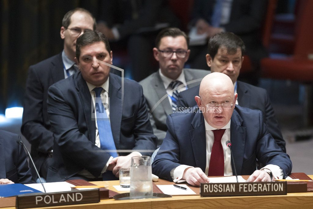 WASHINGTON | Trump claims success in Syria, but chemical weapons remain