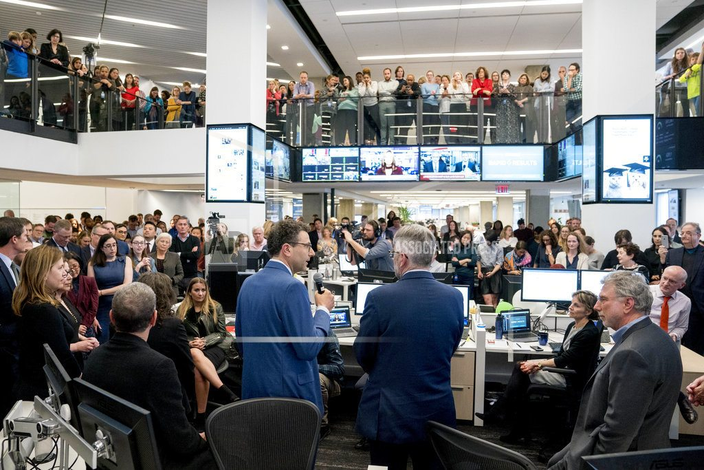 NEW YORK | Times, New Yorker win Pulitzer for Weinstein scandal