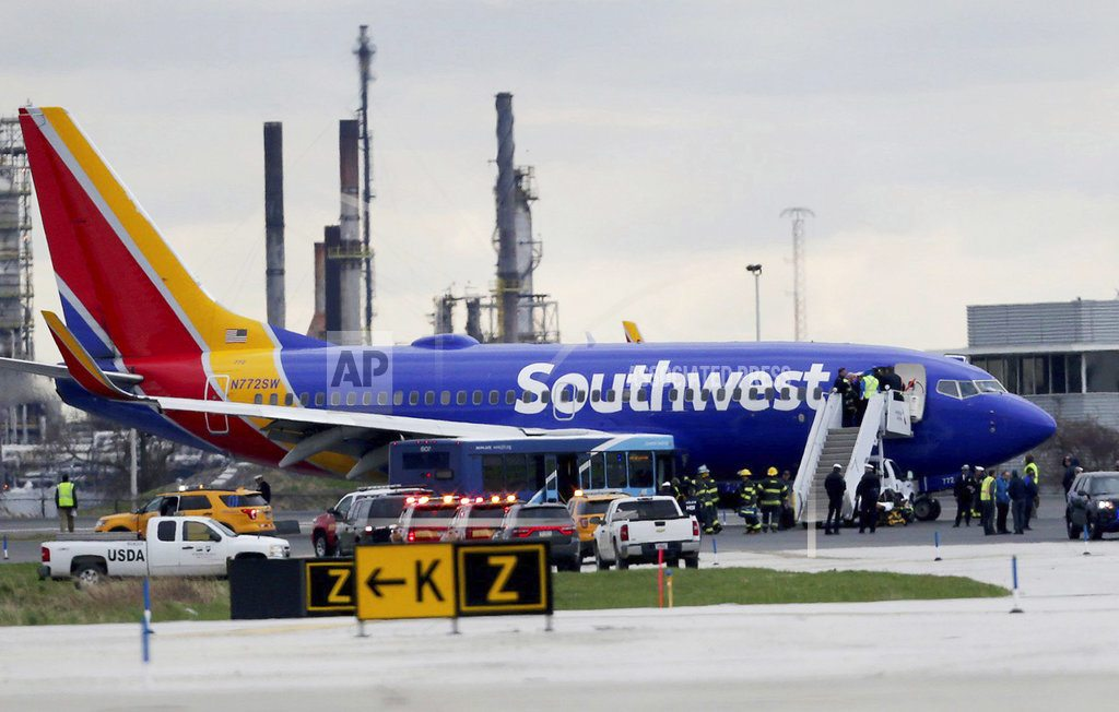 PHILADELPHIA | The investigation into the deadly engine failure on a Southwest jet is focusing on whether wear and tear caused a fan blade to snap off, triggering a catastrophic chain of events that killed a passenger
