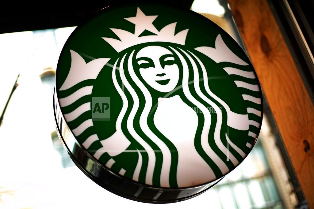 NEW YORK   Starbucks CEO says racial controversy hasn't affected sales