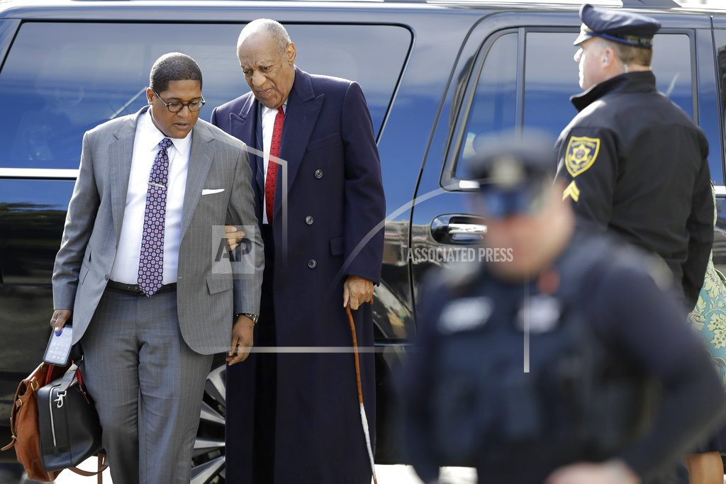 NORRISTOWN, Pa | The Latest: Defense says schedules show Cosby wasn't around