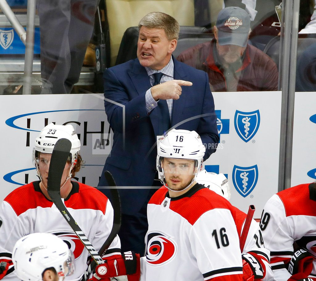 RALEIGH, N.C | Carolina coach Bill Peters resigns after 4 seasons with club