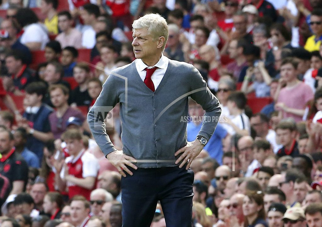 MANCHESTER, England | Man City celebrates title, Wenger's farewell starts with win