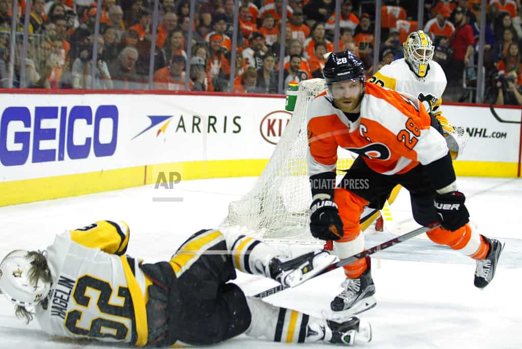 PHILADELPHIA | Guentzel scores 4 goals to lead Penguins to Game 6 clinch