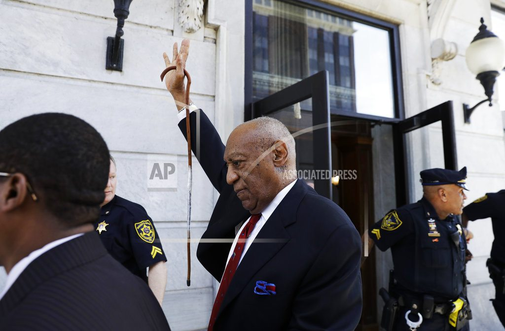 NORRISTOWN, Pa | The Latest: News outlets want Cosby jury names made public