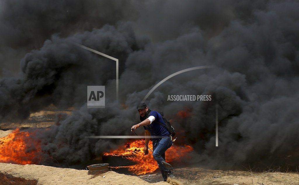 GAZA CITY, Gaza Strip | Deadly violence erupts again in Gaza at Israeli border fence