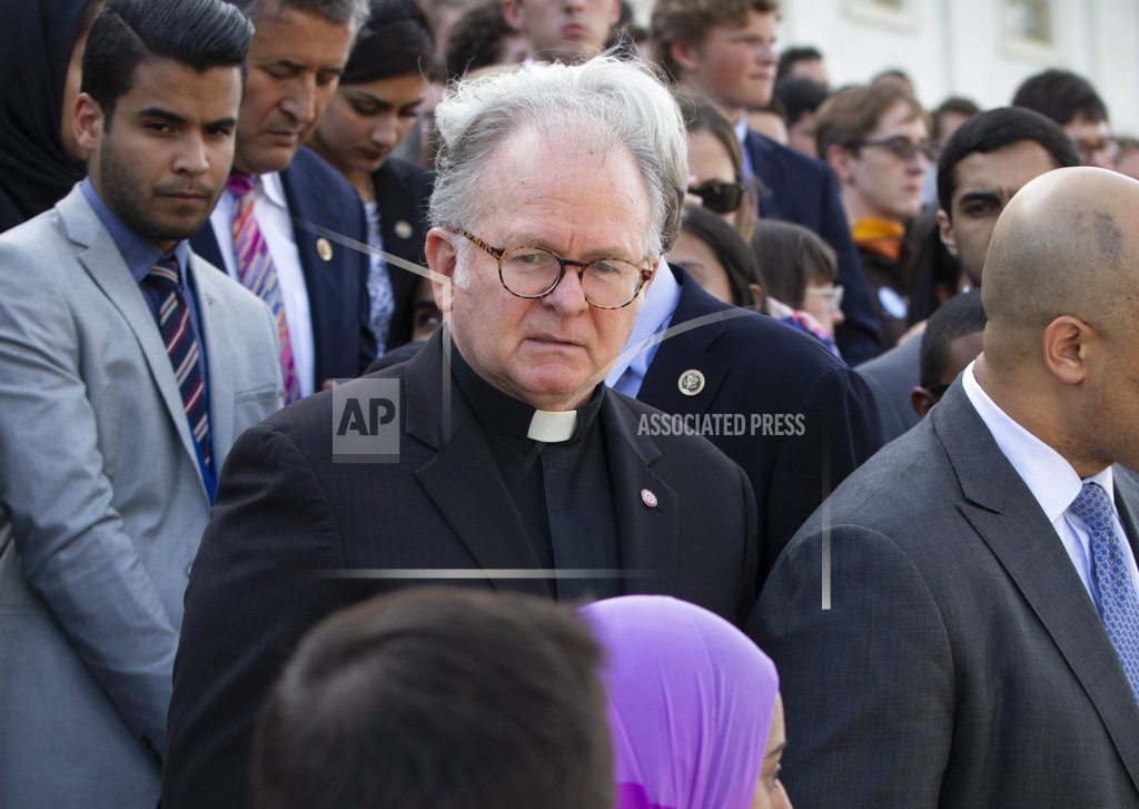 WASHINGTON | House chaplain's firing sparks uproar among Democrats