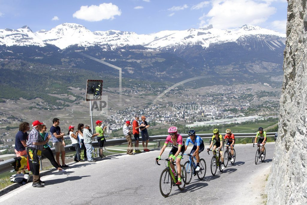 SION, Switzerland | Roglic extends lead on toughest Tour of Romandie stage