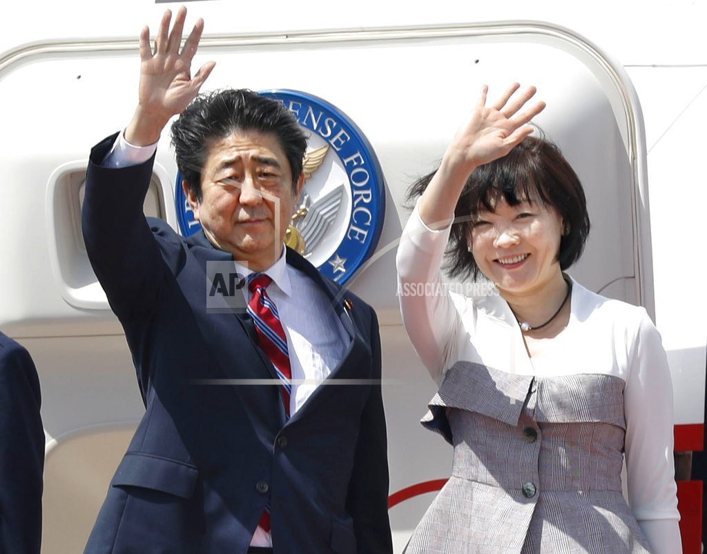 DUBAI, United Arab Emirates | Japan PM Abe arrives in UAE on Middle East trip
