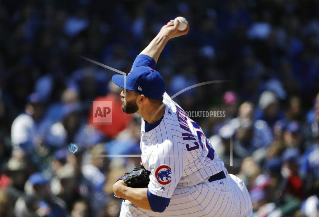CHICAGO | Chatwood, Cubs sweep Brewers with 2-0 win