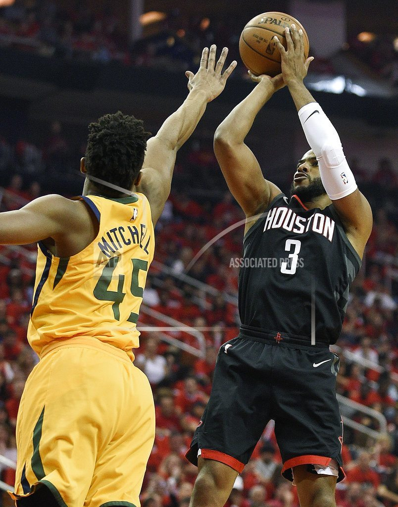 HOUSTON | Harden's 41 points lead Rockets over Jazz in Game 1