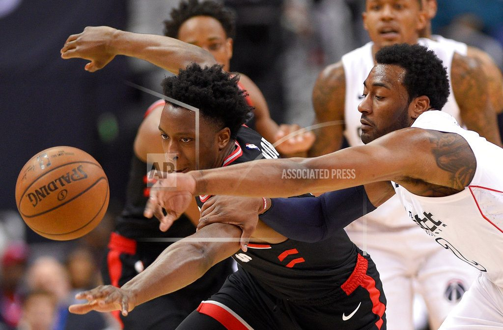 WASHINGTON | Beal, Wall each get 28, Wiz top Raps 122-103; series at 2-1