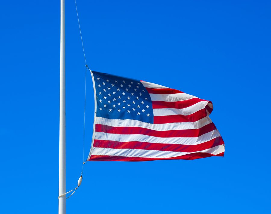 Rhode Island Governor Raimondo Directs U.S. & Rhode Island Flags to Fly at Half-Staff in Honor of Former First Lady Barbara Bush