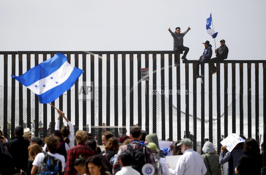 TIJUANA, Mexico | The Latest: Some caravan of asylum seekers waiting at border