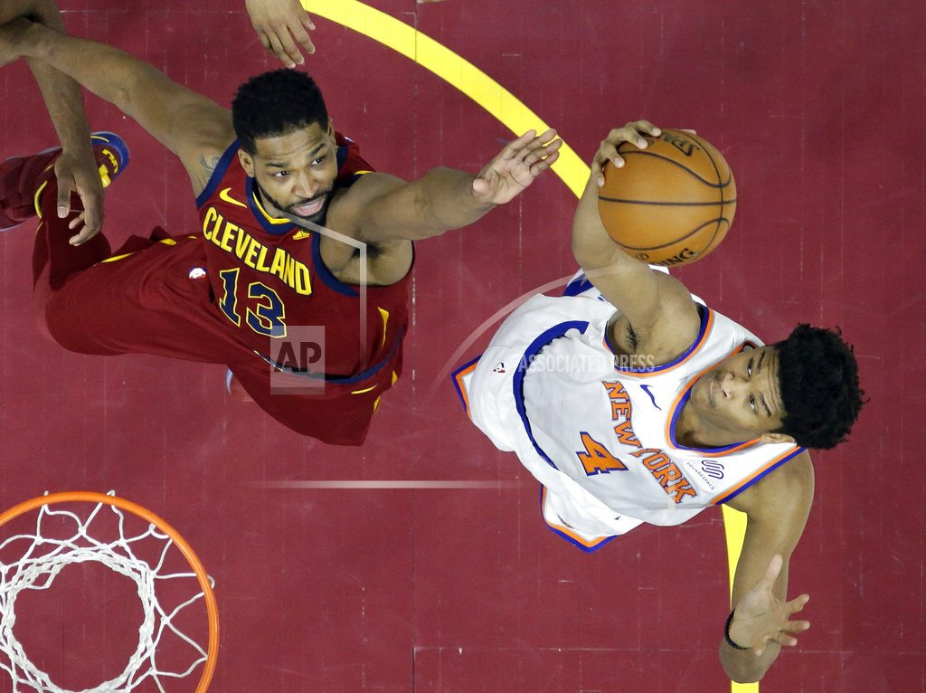 """CLEVELAND    LeBron, Cavs end """"crazy"""" regular season with loss to Knicks"""