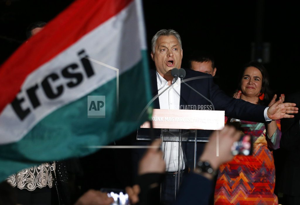 BUDAPEST, Hungary | The Latest: Luxembourg FM assails Orban's 'scaremongering'