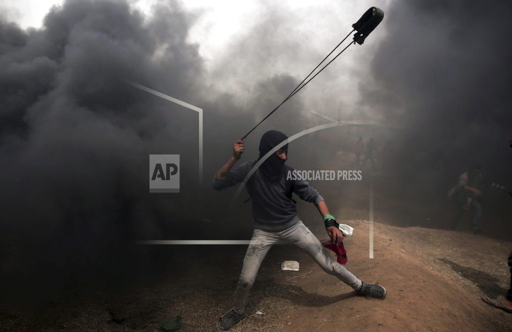 GAZA CITY, Gaza Strip | The Latest: EU urges Israel to refrain from lethal force