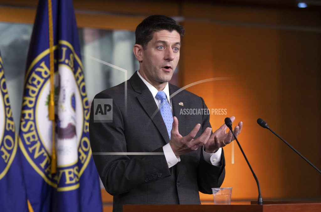 WASHINGTON  | Ryan's departure sparks unrest, GOP fears losing House