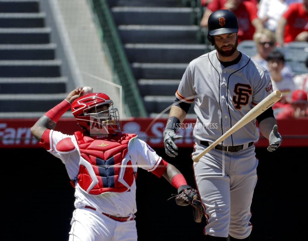 ANAHEIM, Calif. |Belt has 21-pitch at-bat, later homers as Giants beat Angels