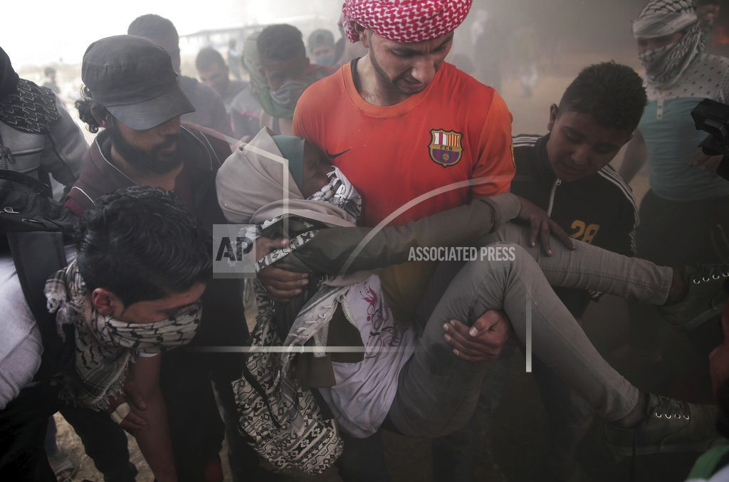 GAZA CITY, Gaza Strip | The Latest: Israeli DM blames Hamas for boy's death