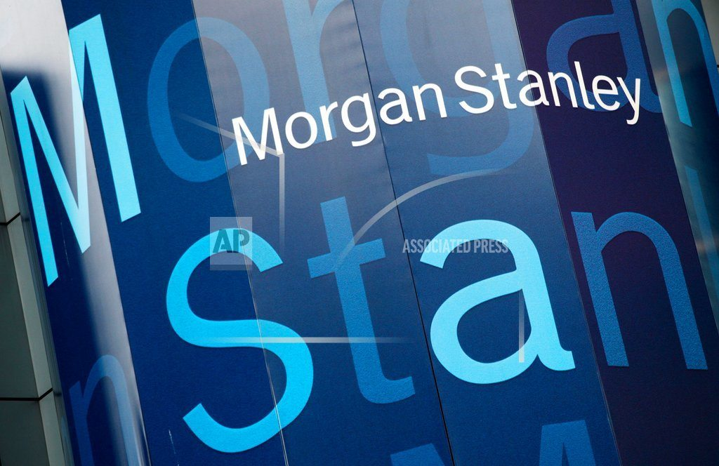 NEW YORK | Morgan Stanley posts record 1Q profit, helped by trading