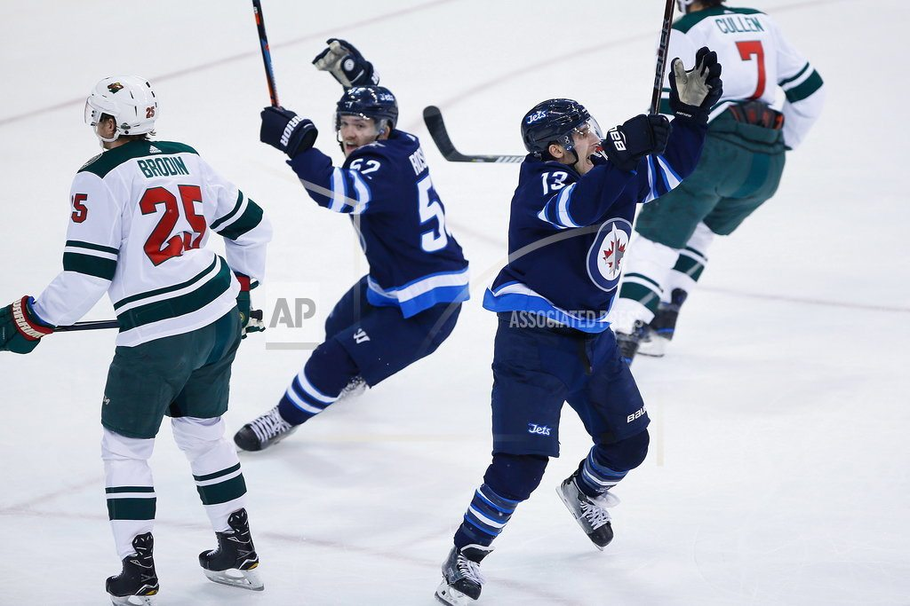WINNIPEG, Manitoba | Jets beat Wild 5-0 in Game 5 to advance to second round