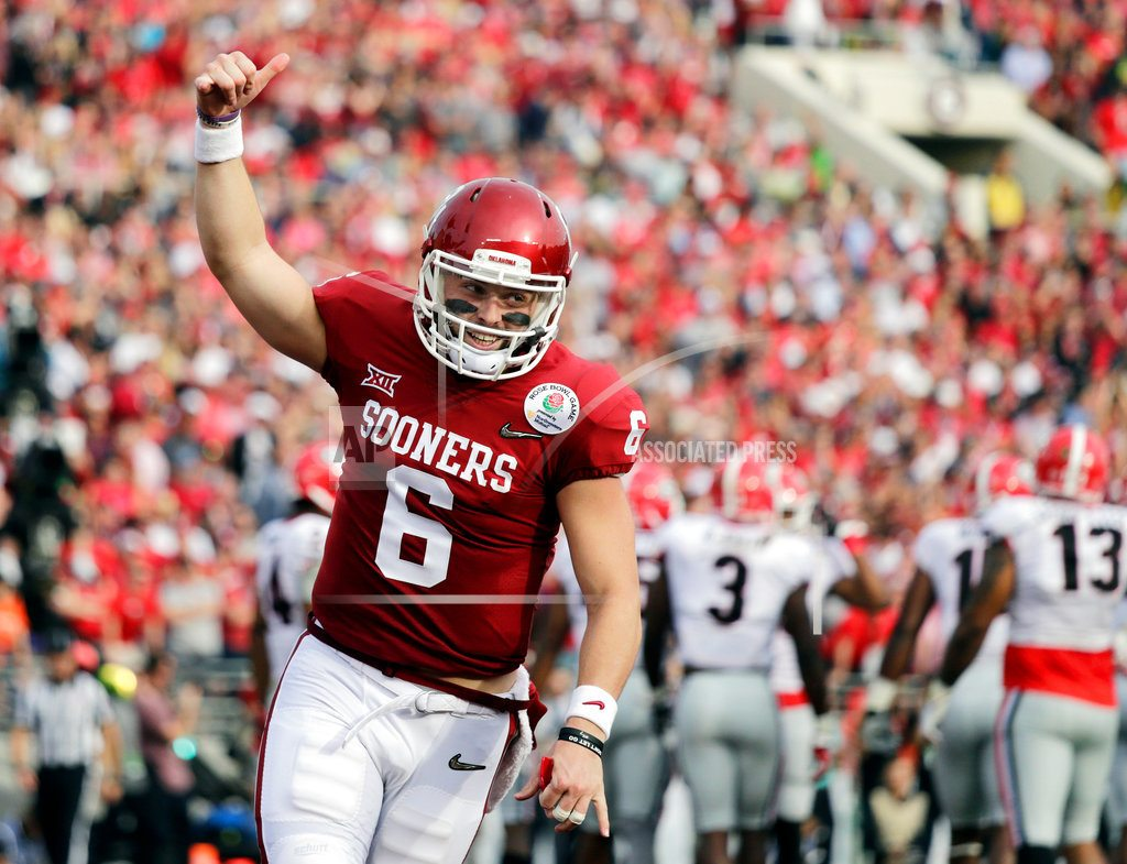 ARLINGTON, Texas   Mayfield goes 1st to begin rush to get QBs in NFL draft