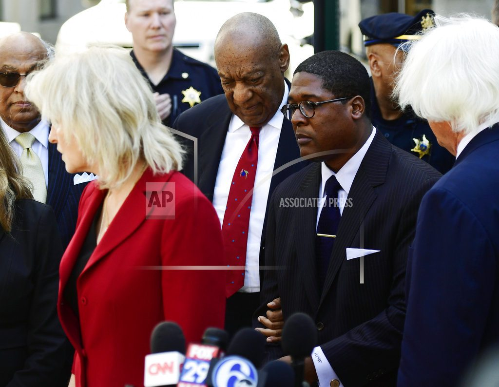 NORRISTOWN, Pa.    The Latest: Accuser calls Bill Cosby 'a raping monster'
