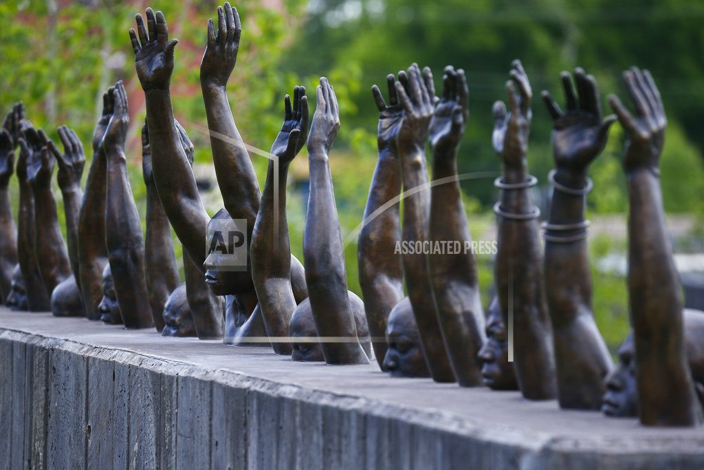 MONTGOMERY, Ala.   Lynching memorial and museum in Alabama draw crowds, tears