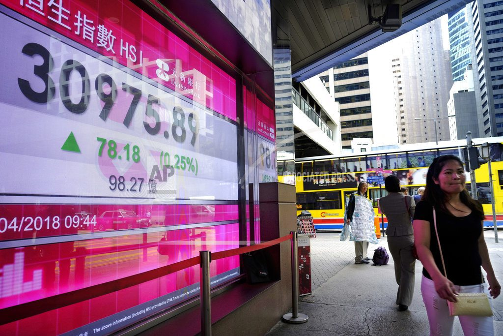 HONG KONG | World stocks, oil price stabilize amid geopolitical concerns