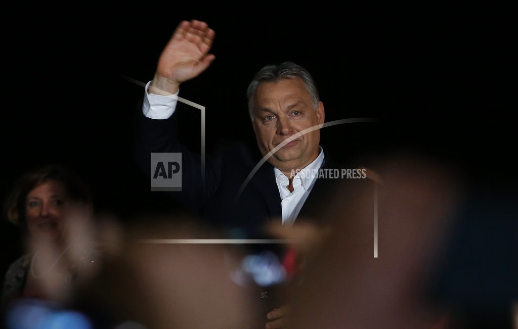 BUDAPEST, Hungary |The Latest: Conservative German minister congratulates Orban