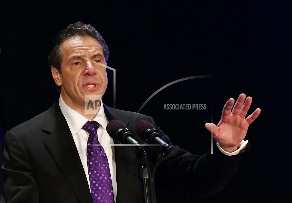 ALBANY, N.Y. | Cuomo says he won't seek Working Families Party ballot line