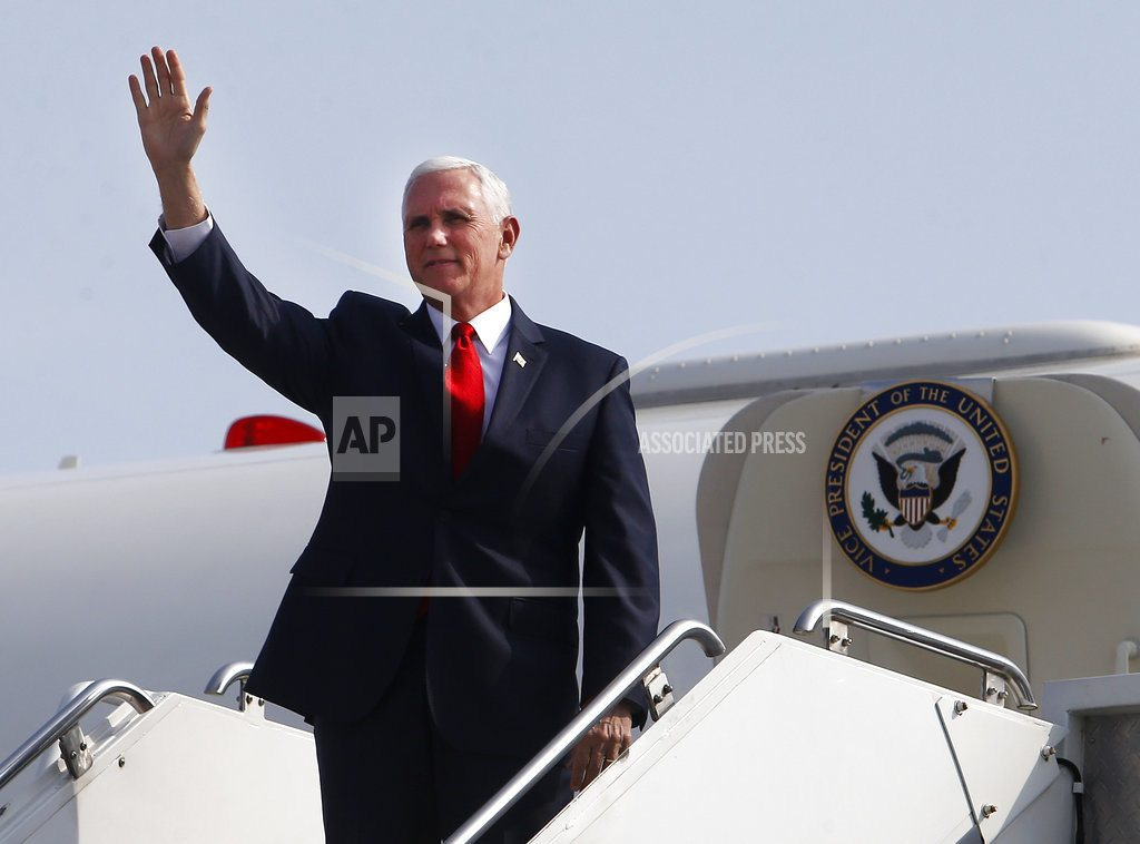 LIMA, |While in Peru, Pence briefs US lawmakers on Syrian strikes