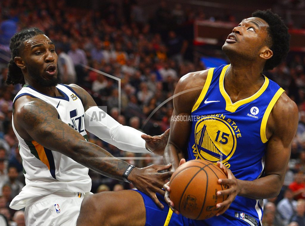 SALT LAKE CITY | Jazz in position to claim 3 seed after beating Warriors