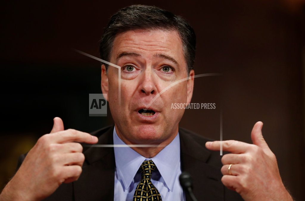 WASHINGTON | Comey: 'Possible' that Russians have leverage over Trump