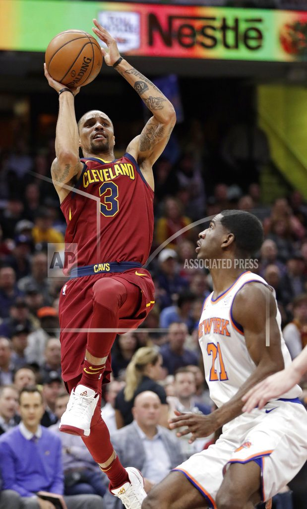 CLEVELAND | LeBron plays 82nd game, rests as Cavs lose 110-98 to Knicks