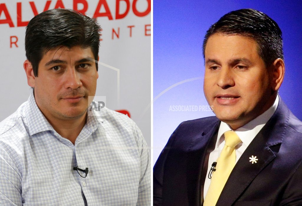 Ruling party candidate easily wins Costa Rica presidency