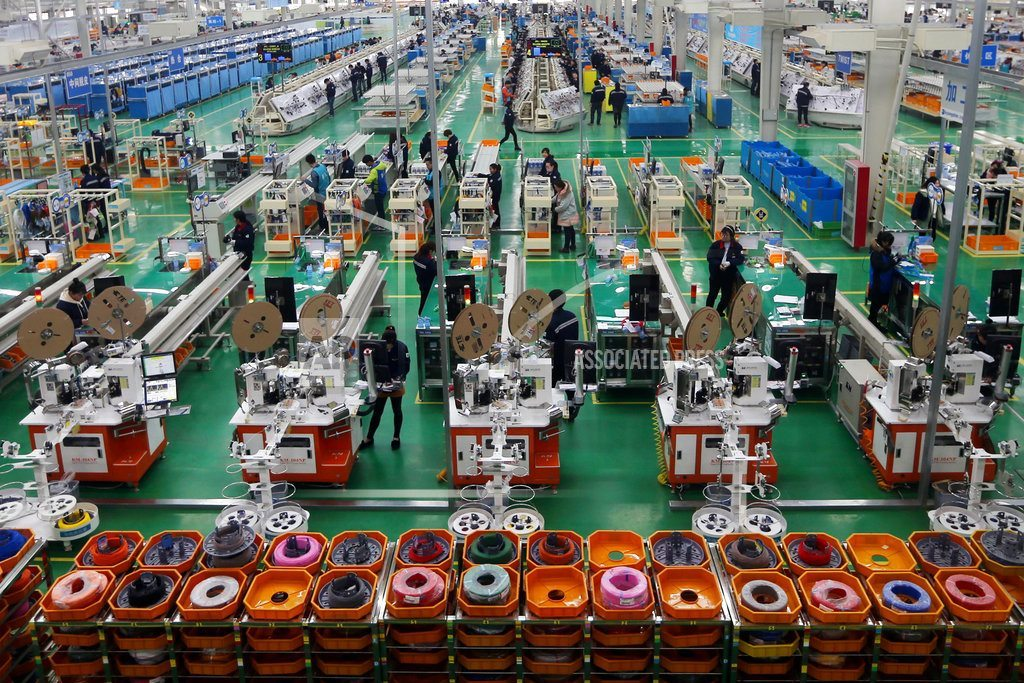 HONG KONG | China factory activity eases, service sector gains in April