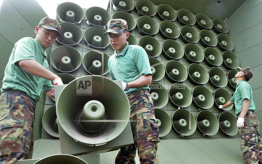 SEOUL, South Korea | S. Korea to remove propaganda loudspeakers at shared border
