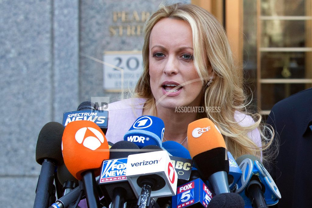 LOS ANGELES | Trump lawyer must say why he wants porn star's case delayed