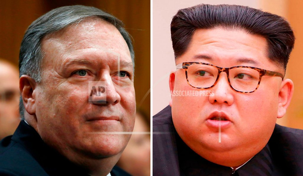 WASHINGTON | The Latest: Trump confirms Pompeo talks in North Korea