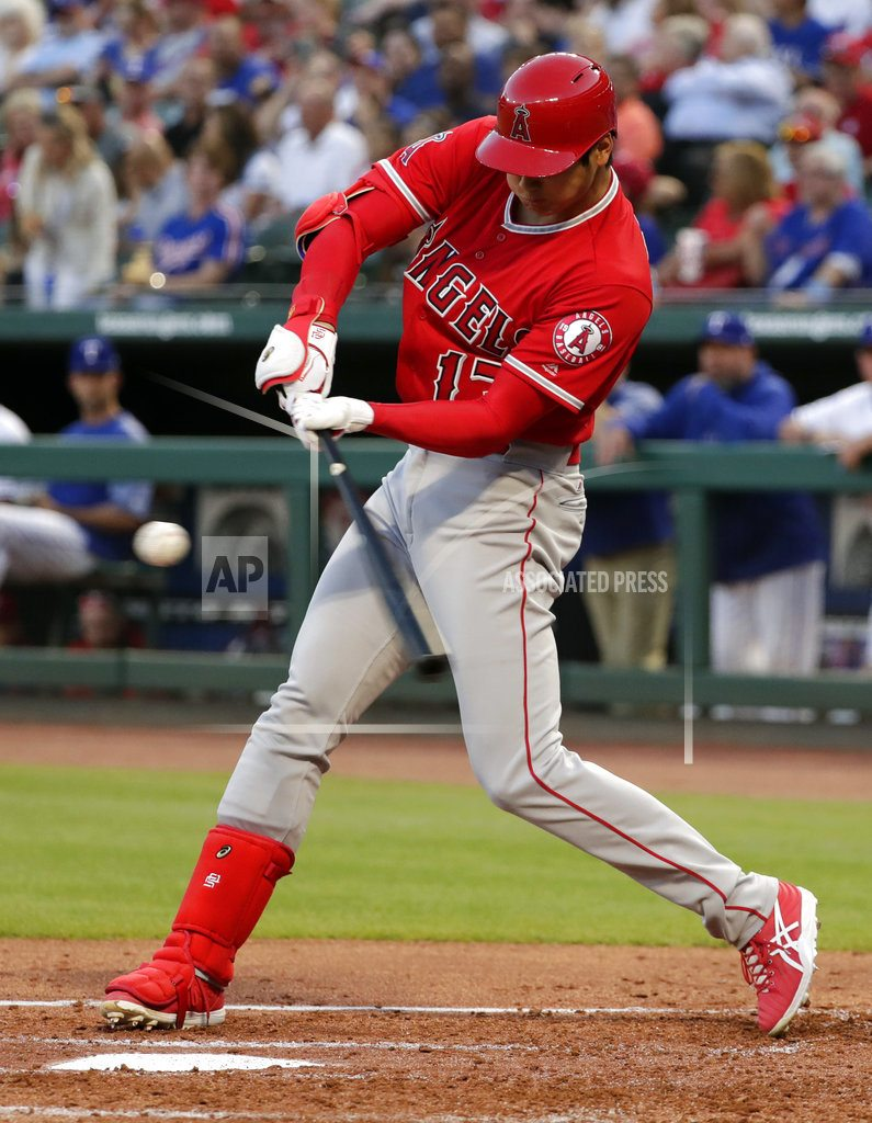 ARLINGTON, Texas | Ohtani RBI and pickoff in Angels' 7-2 win for sweep at Texas