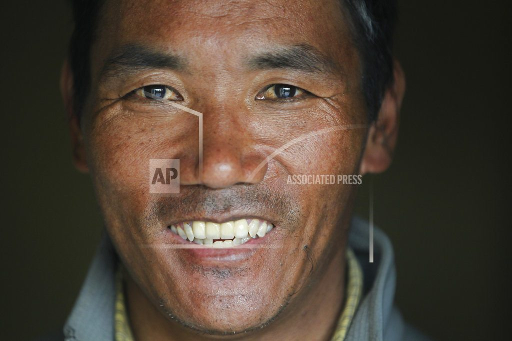 KATHMANDU, Nepal | Sherpa guide trying to reach top of the world for 22nd time