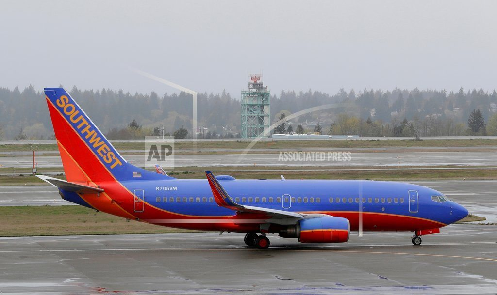 DALLAS  | Southwest, dealing with tragedy, posts quarterly earnings.