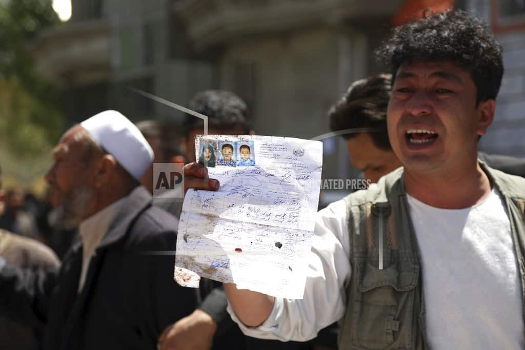 KABUL, Afghanistan| The Latest: UN chief condemns attack on Afghan vote center