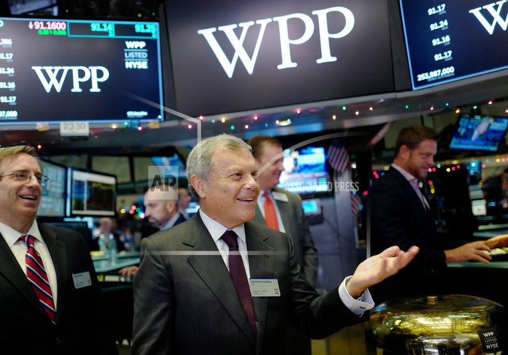 LONDON | Shares in ad giant WPP fall amid breakup speculation