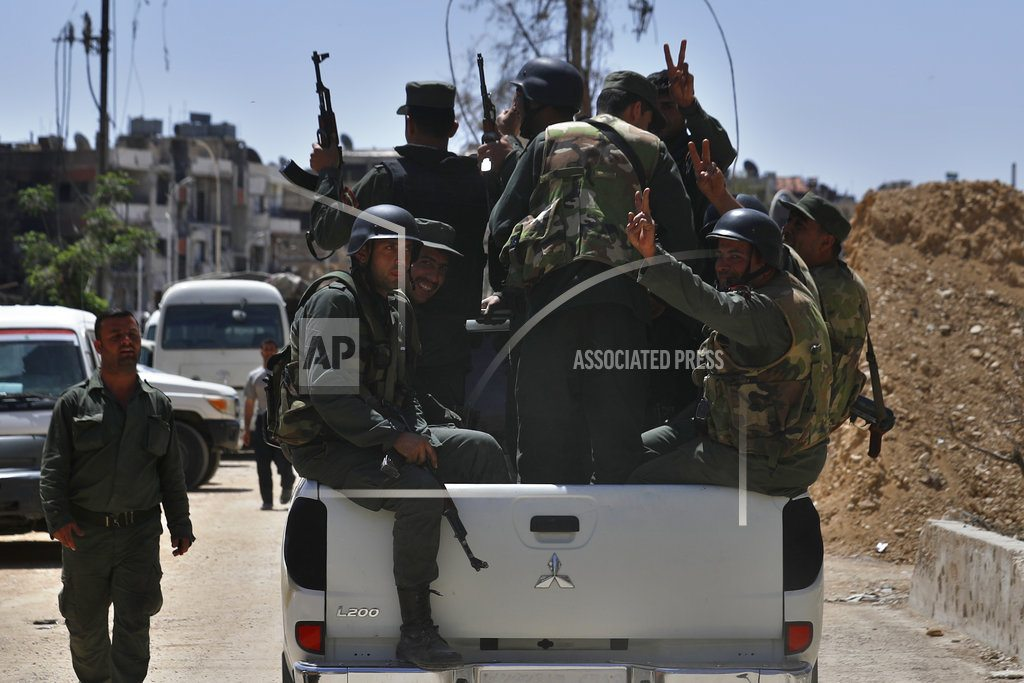 BEIRUT | The Latest: Russia opposes Western resolution on Syria at UN
