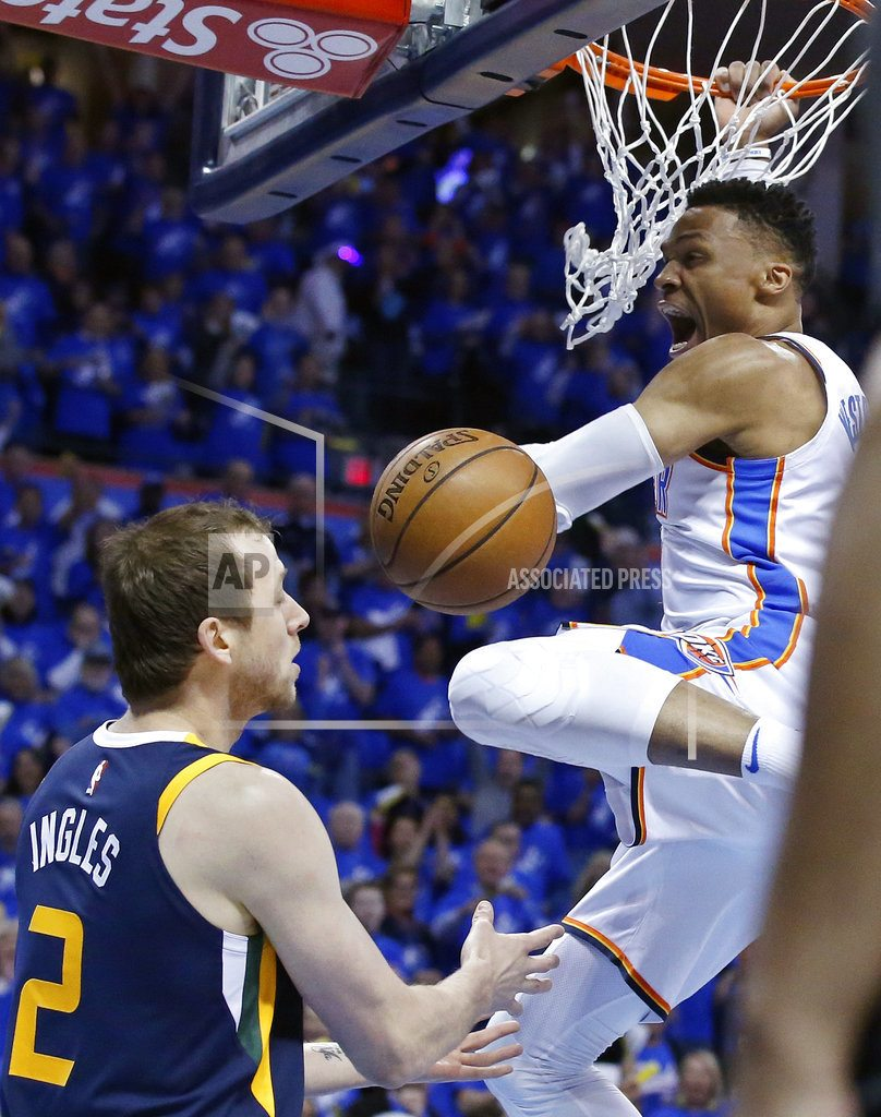 OKLAHOMA CITY | George scores 36, leads Thunder to 116-108 win over Jazz