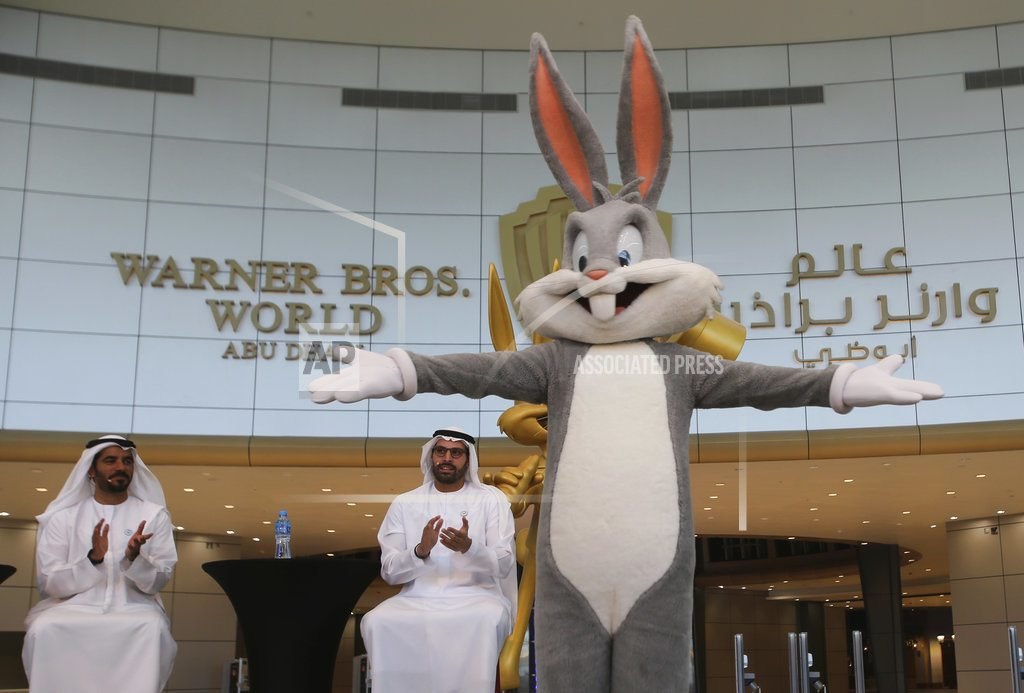 ABU DHABI, United Arab Emirates | Abu Dhabi's Warner Bros. indoor amusement park opens in July